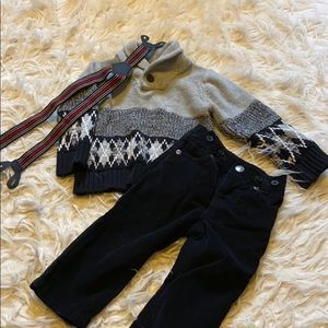 Sweater outfit